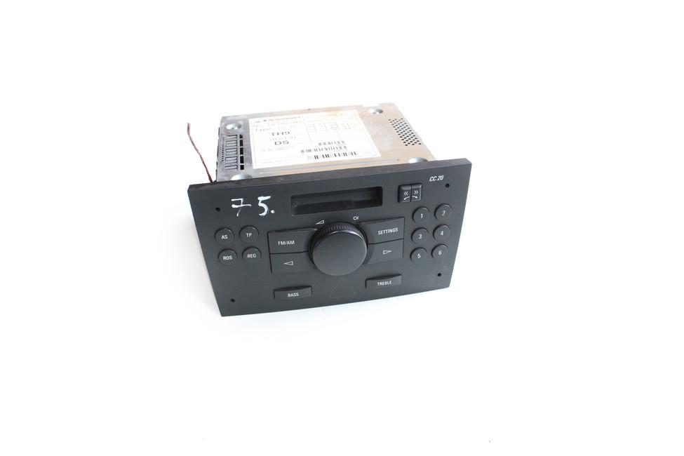 auto radio cd opel meriva a 2003 13140941 pou it. Black Bedroom Furniture Sets. Home Design Ideas