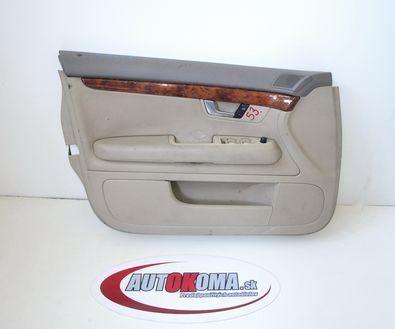 Lavy predny dverovy tapacir Audi A4 B6 01-04