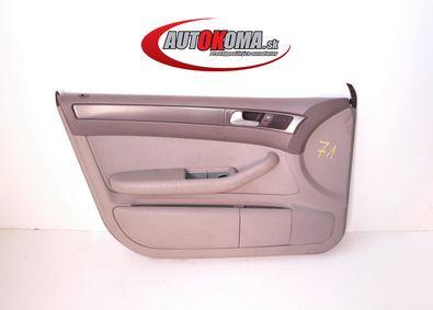 Lavy predny dverovy tapacir Audi A6 C5 lift 01-05